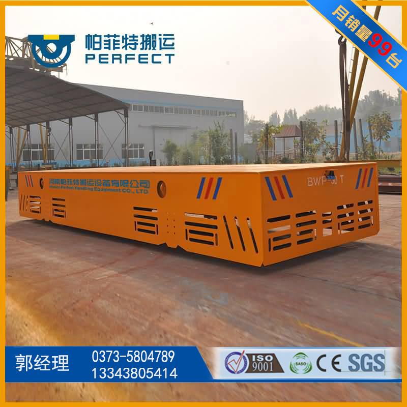 港口设备运输无轨电动平车