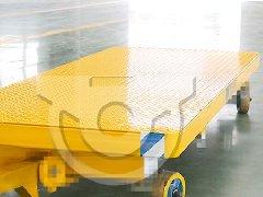 托盘搬运平板拖车 牵引平板拖